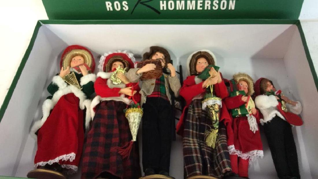 Ros R Hommerson Porcelain Holiday Choir