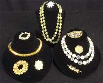 Group 10 Vintage Ladies Costume Jewelry