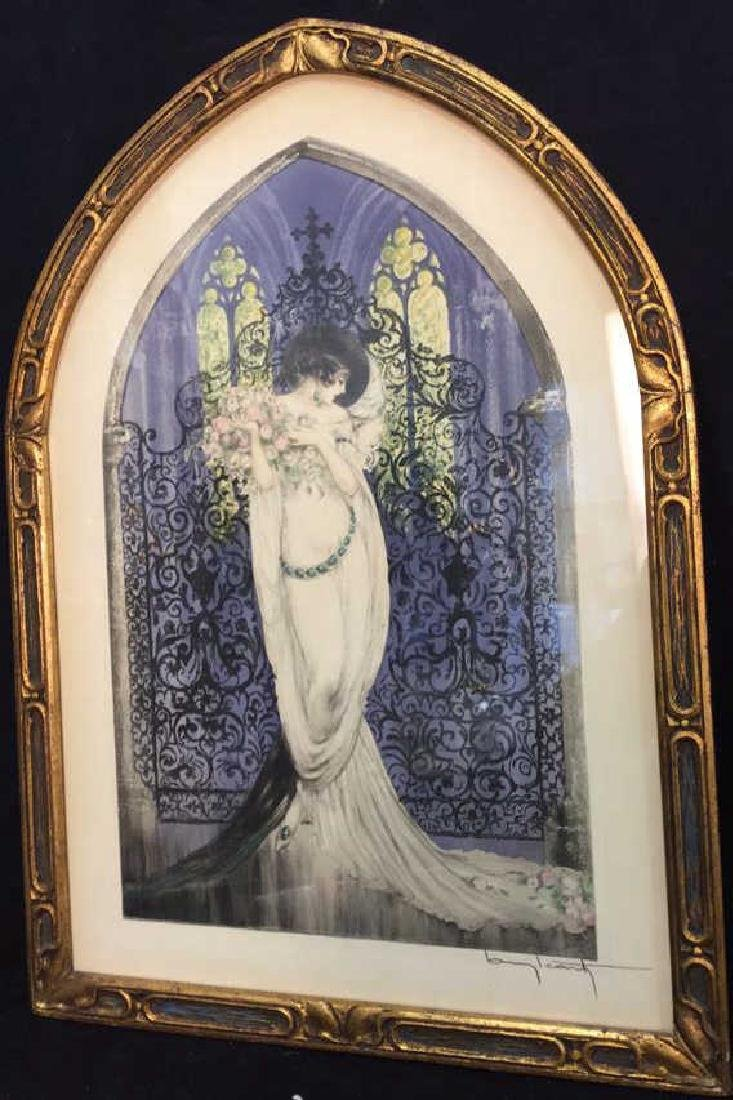Framed Print Tosca By Louis Icart