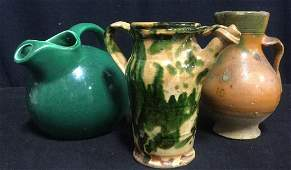 Group VIntage Ceramic Jugs Pitchers
