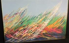 GUNNAR ERMAN Original Oil On Canvas Artist Signed