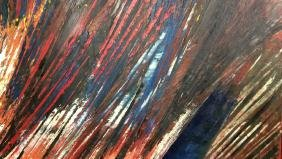 ERIC PATTON Original Abstract Oil Painting