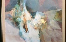 Original Abstract Mixed Media Signed Artwork