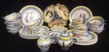 QUIMPER France  Vintage Dishes