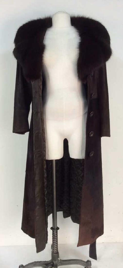REVILLION BOUTIQUE Ladies Mink Cow Fur Coat
