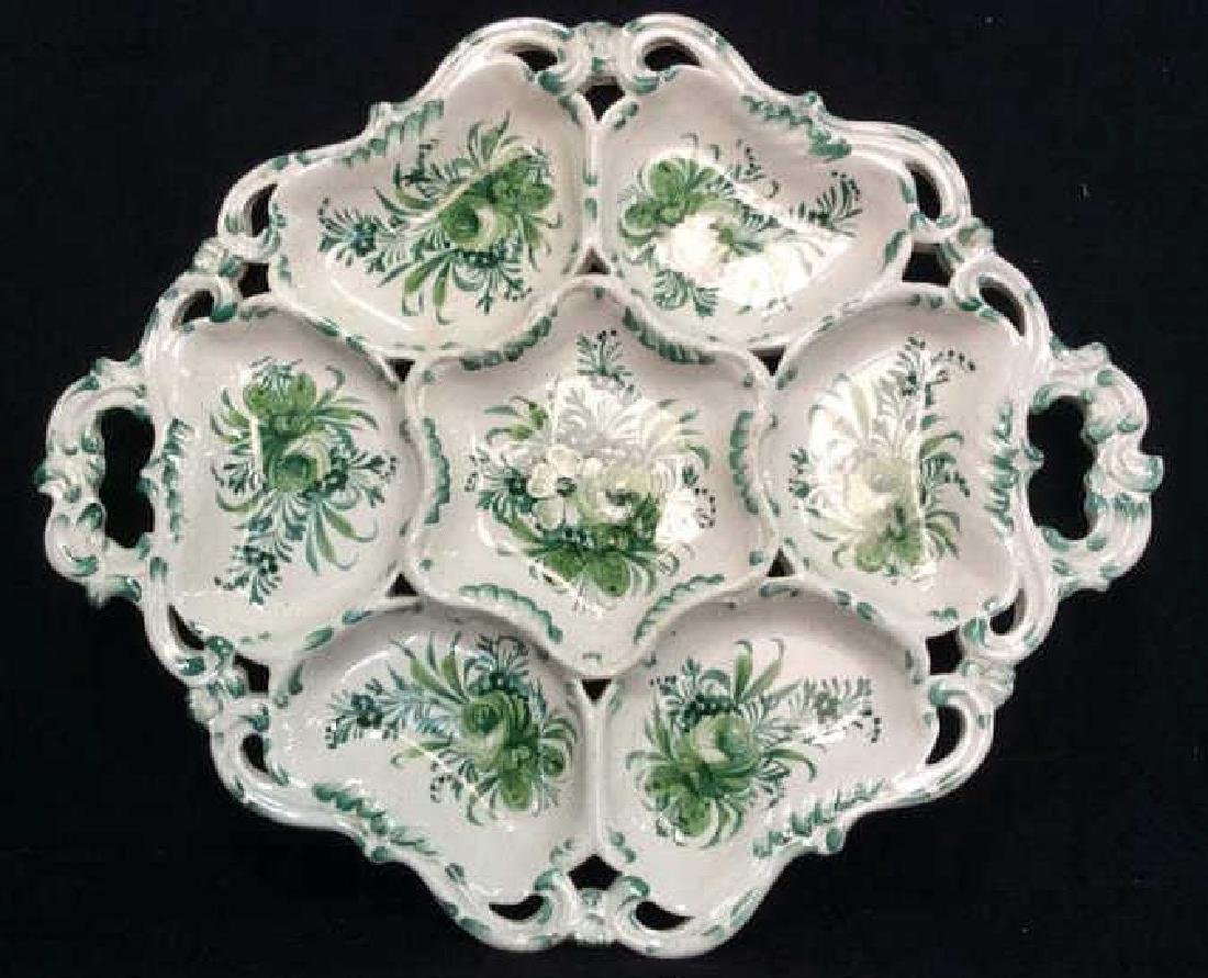 Italian Ceramic Sectioned Platter
