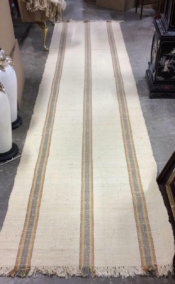 Hand Woven Cotton Carpet Runner