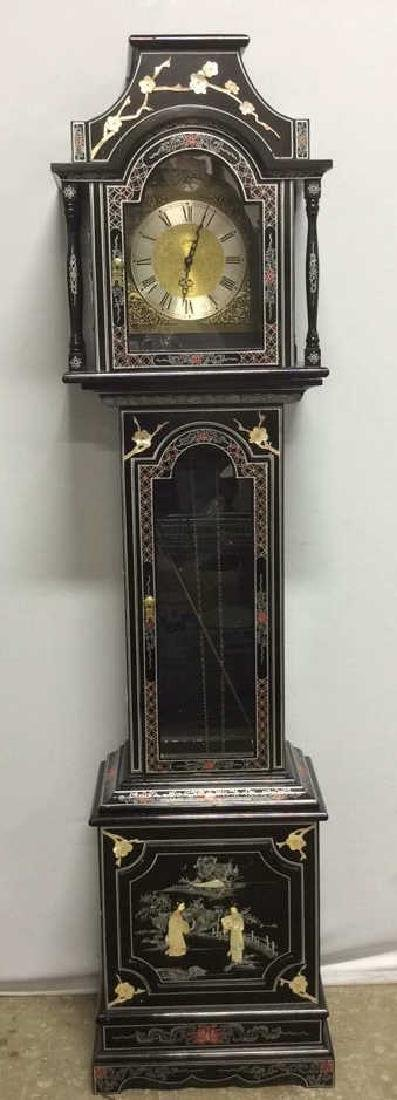 Vintage Asian Style Grandfather Clock
