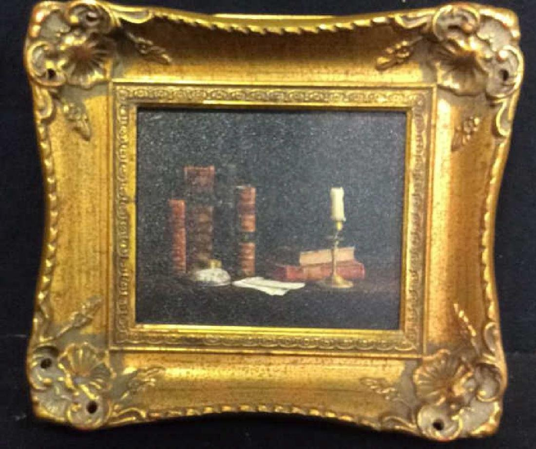 Pierre Deux Books Candle Framed Artwork