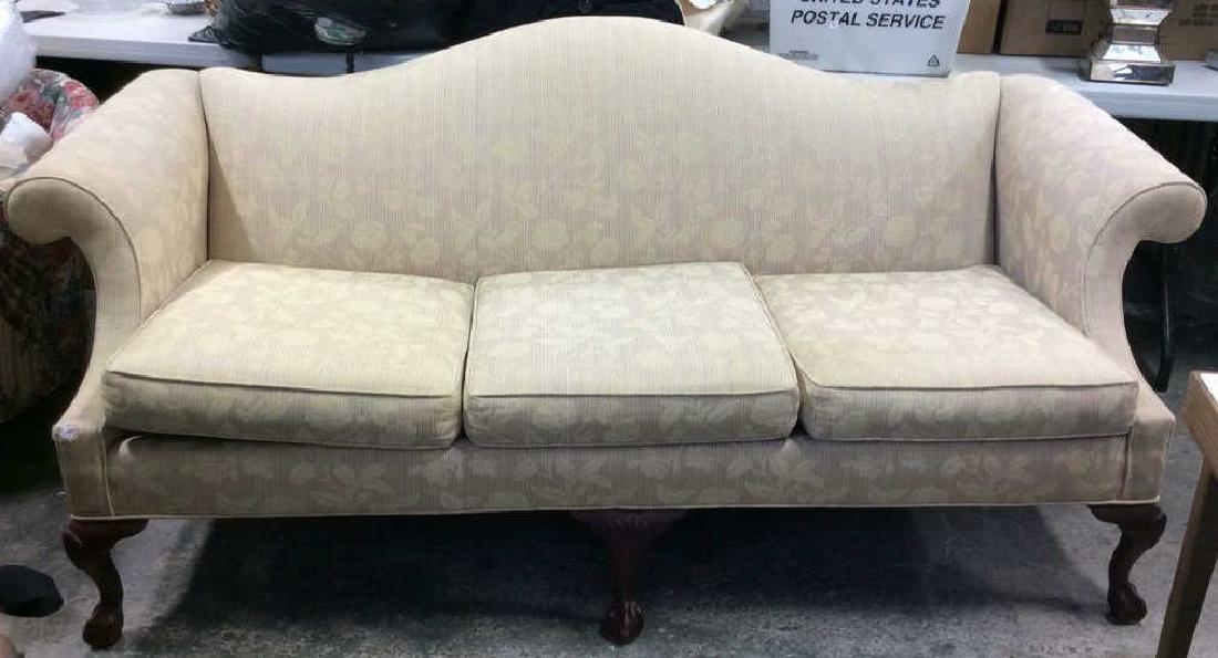 Ethan Allen Camelback Sofa