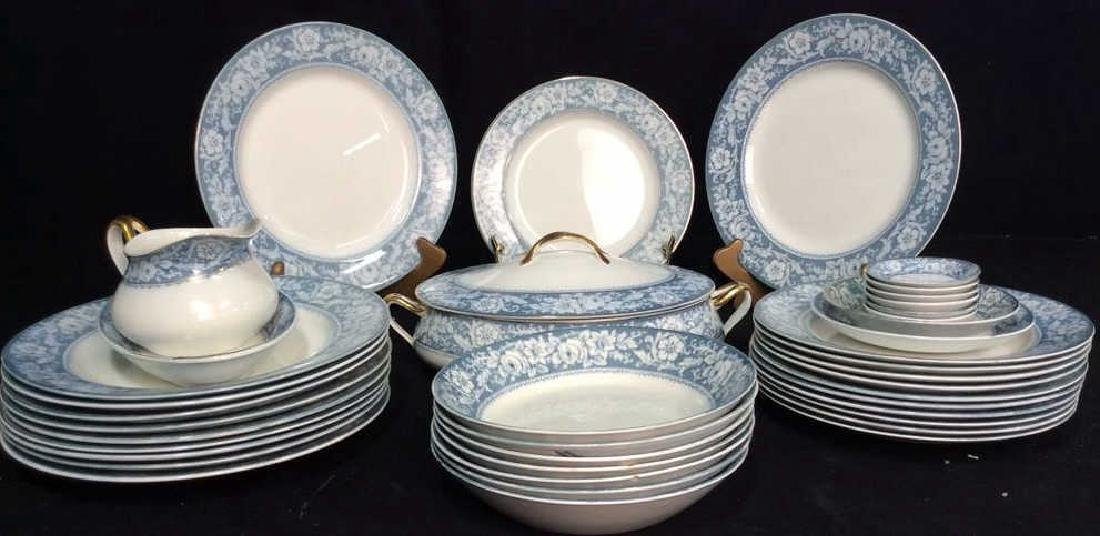 Lot 40 JOHNSON BROS ENGLAND China 'Henley' Dishes