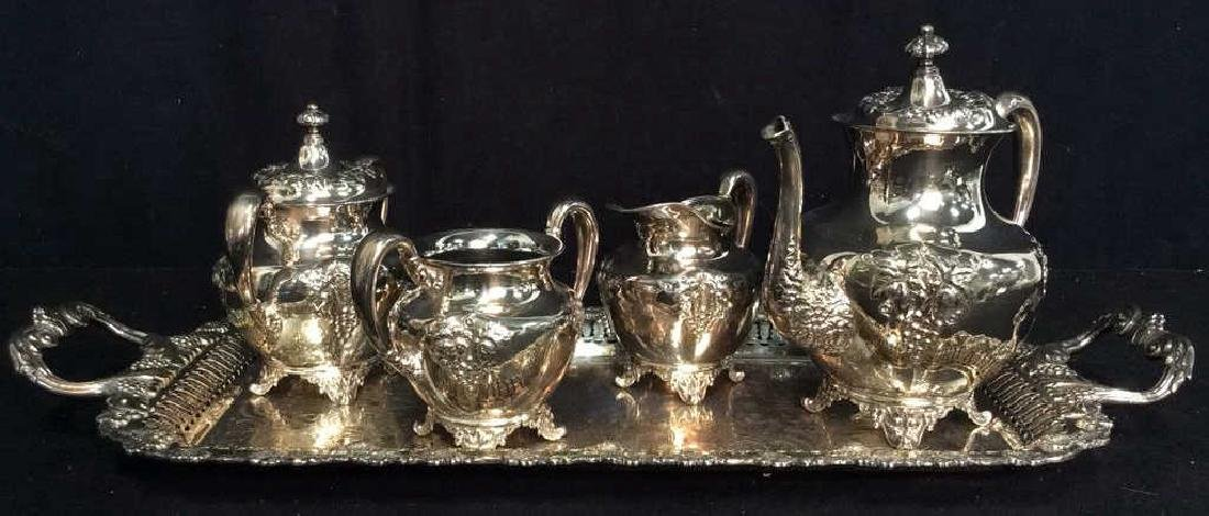 FORBES SILVER CO K Tea Set