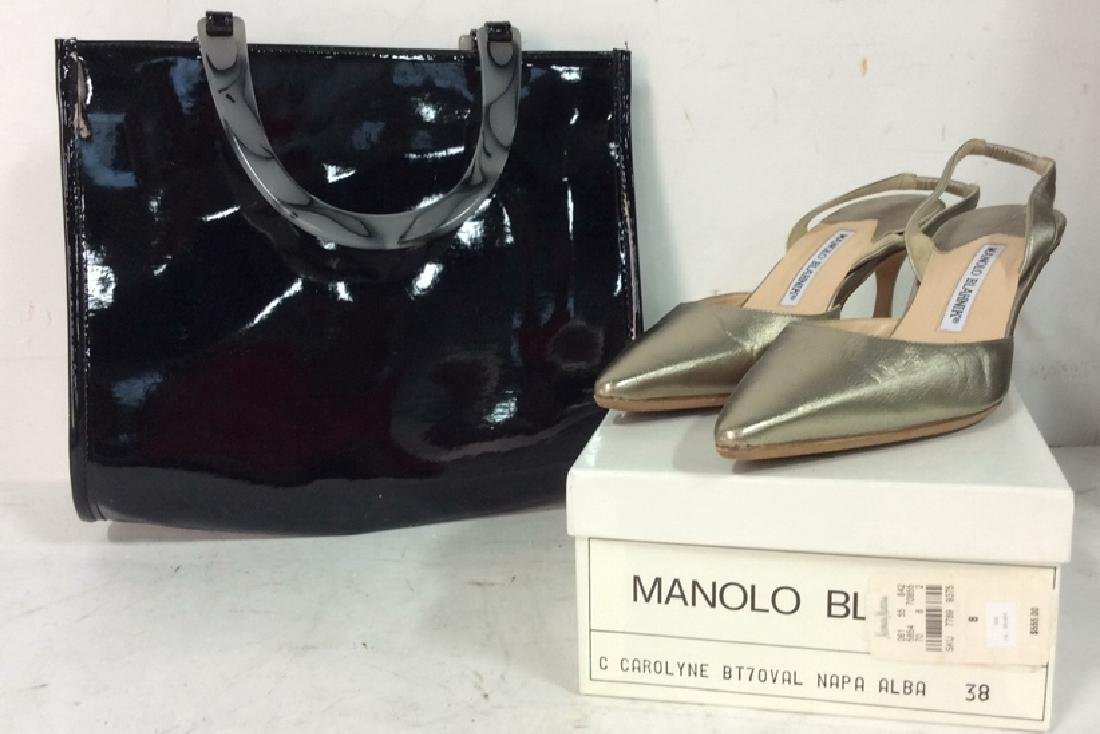 2 Ladies Accessories NEIMAN MARCUS Bag Plus Shoes