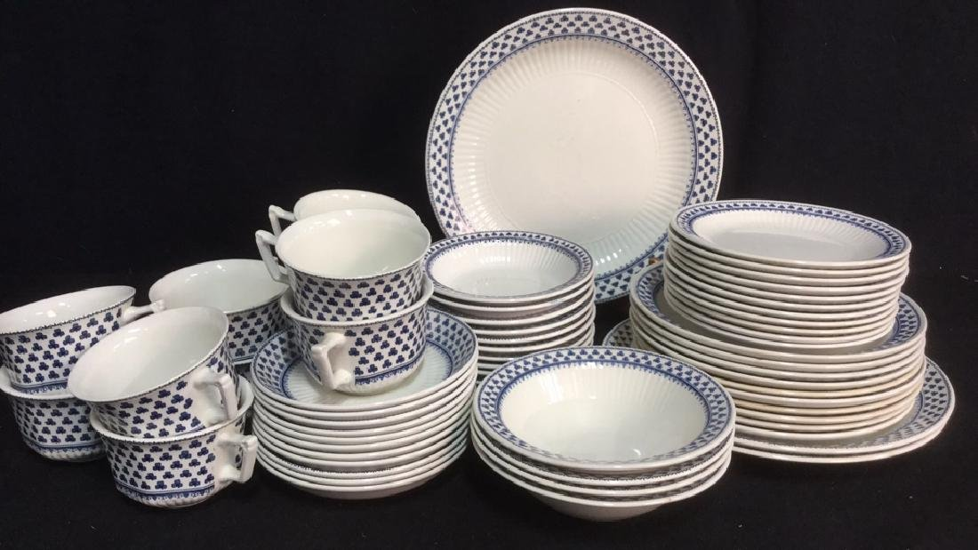 Lot ADAMS English Ironstone Brentwood Dishes
