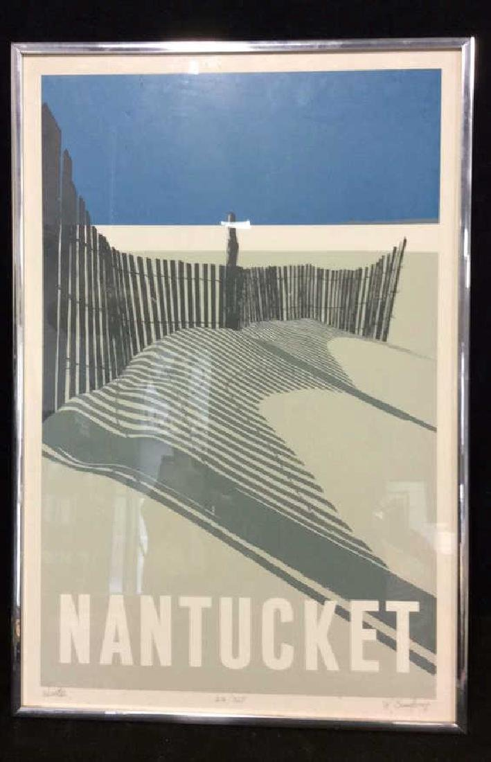 Nantucket Beach Signed Numbered Print