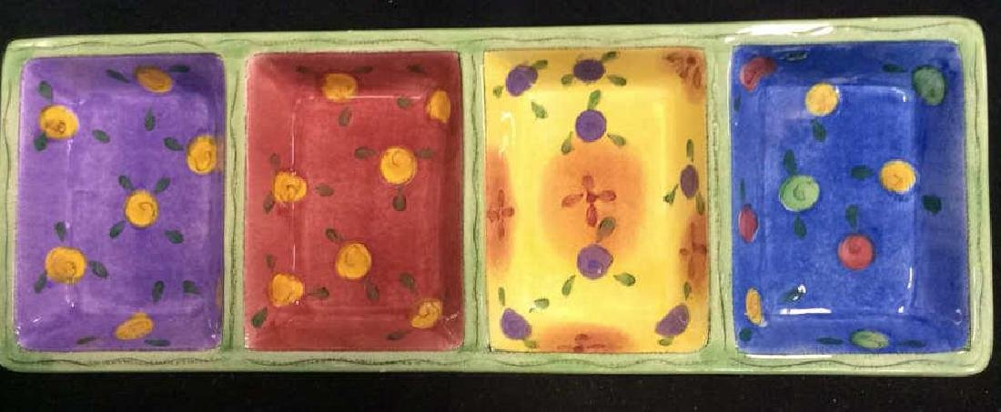 The Sweet Shoppe Ceramic Divided Tray