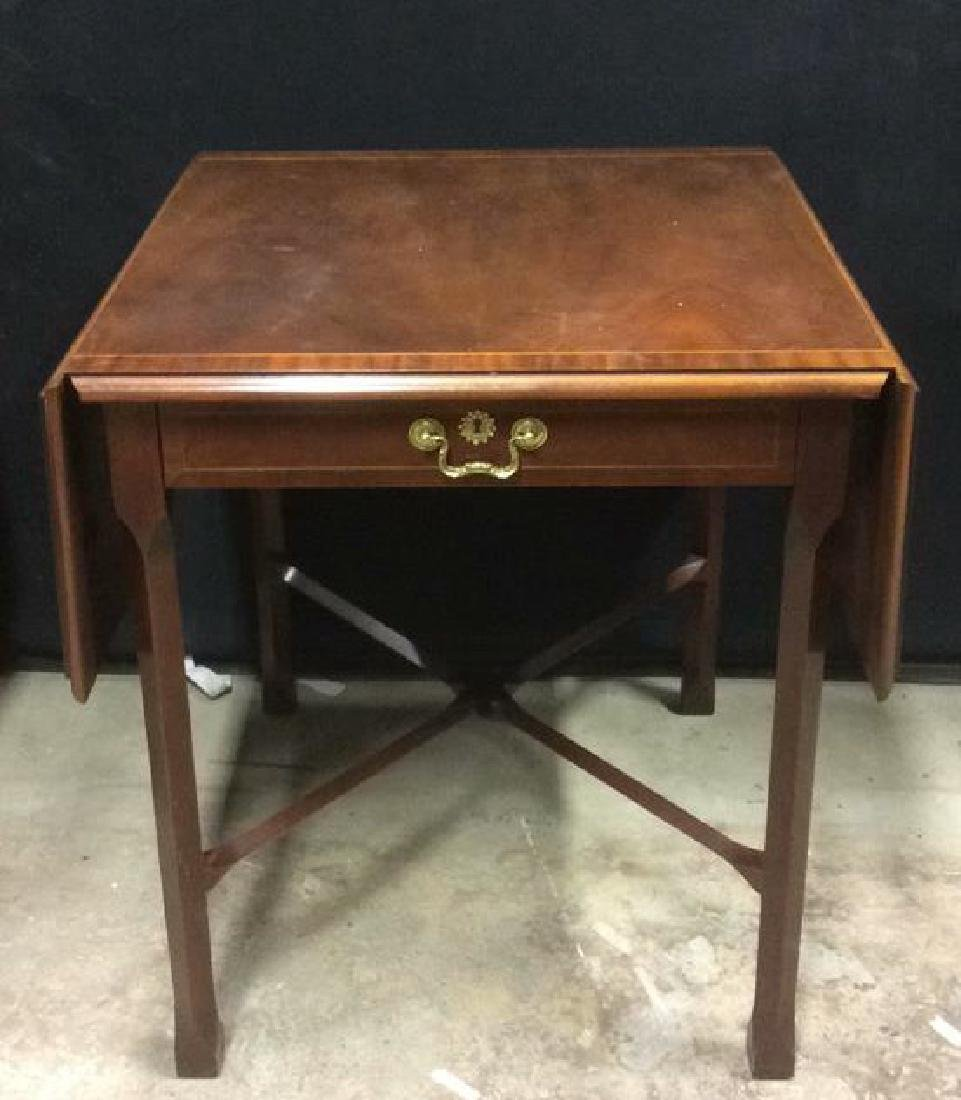 BAKER FURNITURE Mahogany End Side Table
