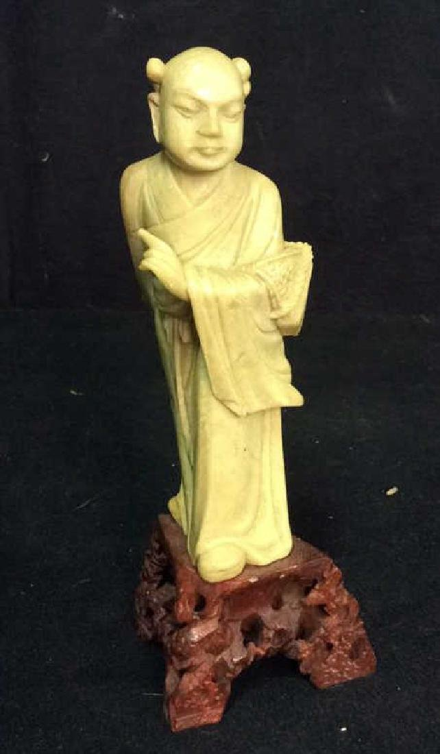 Asian Style Carved Stone Figure