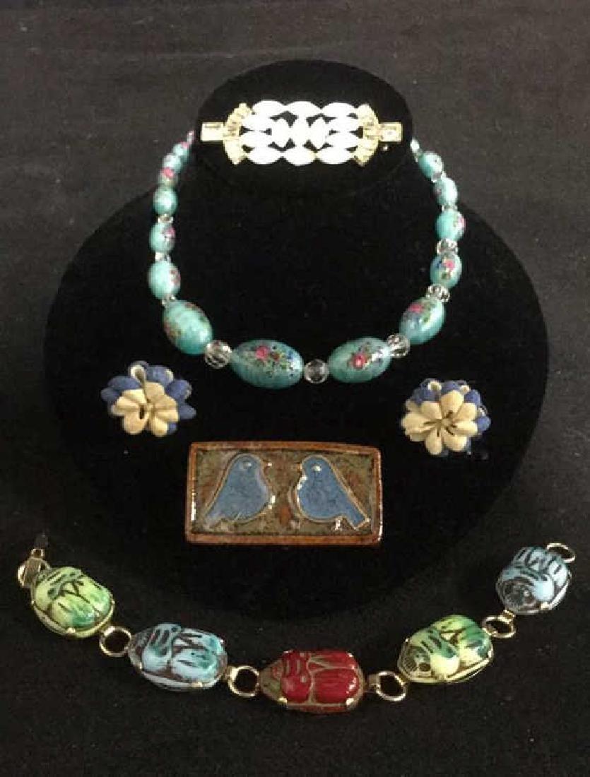 Lot 5 Estate Assorted Costume Jewelry