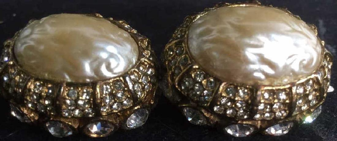 Vintage Graziano Signed Earrings