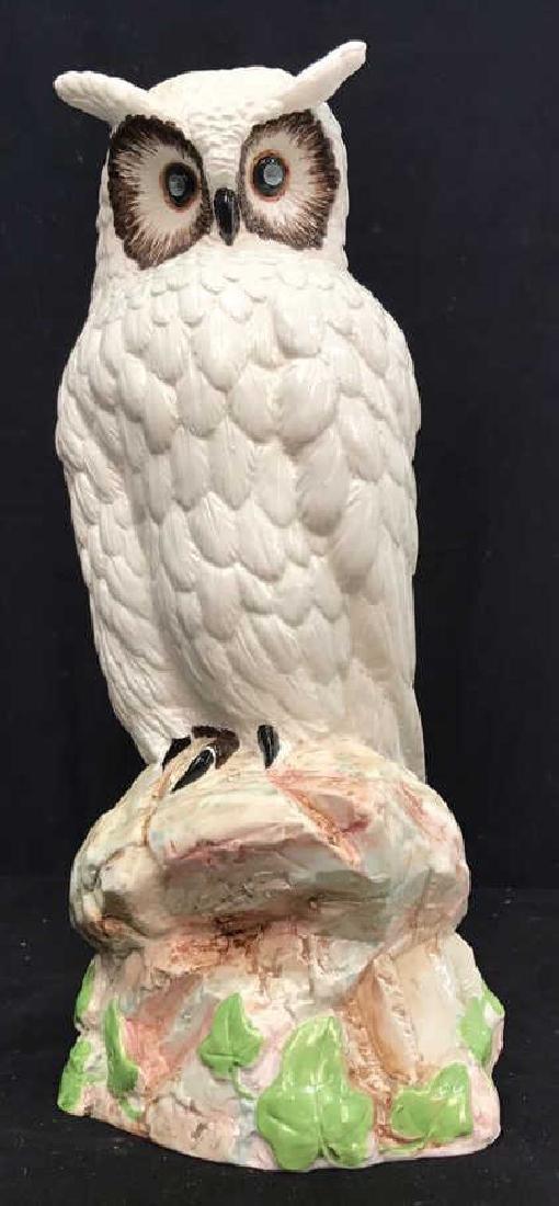 Italian Ceramic Hand Painted Owl