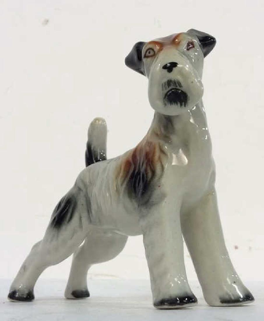 Group Lot of 4 Porcelain Ceramic Dogs
