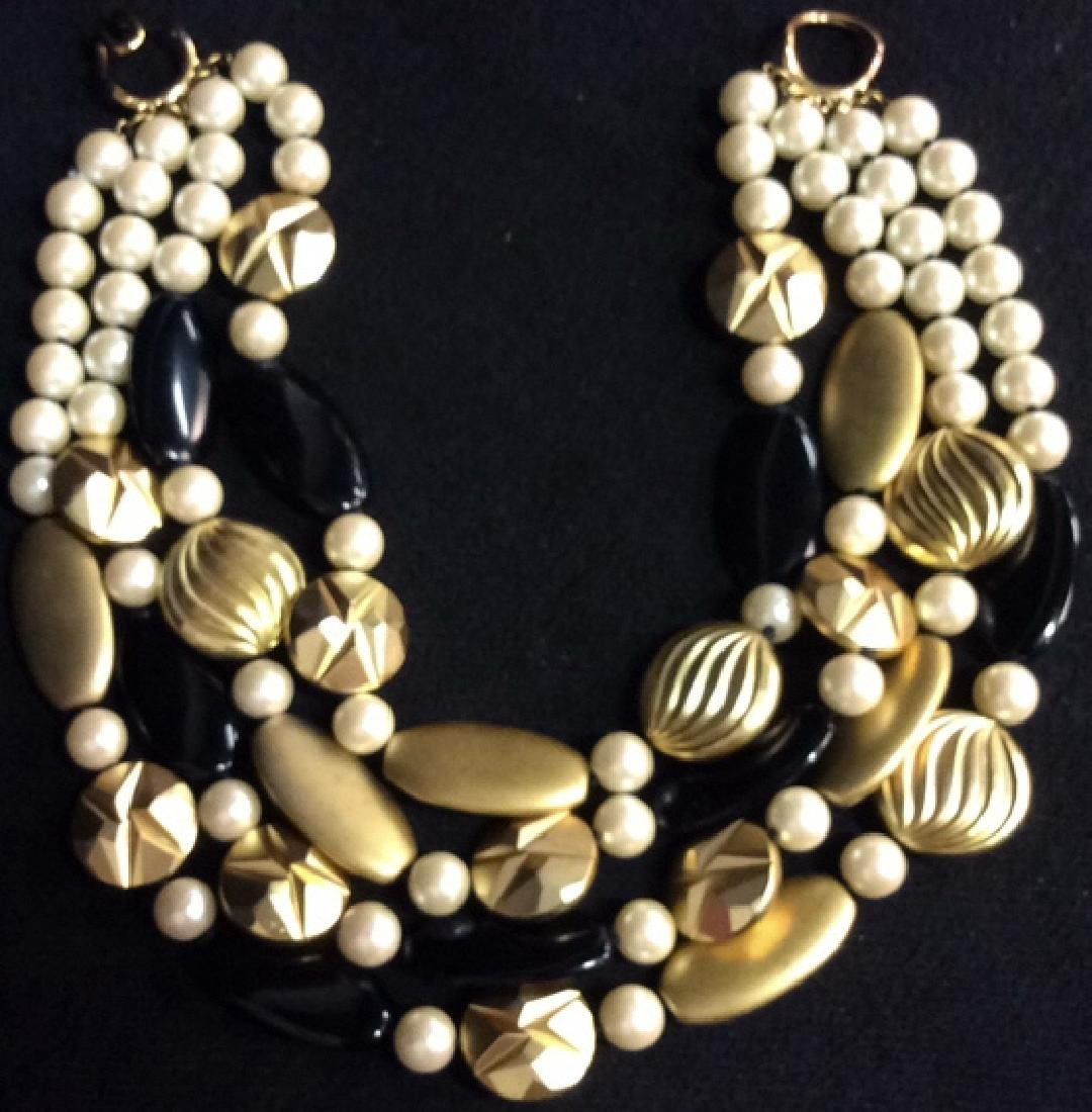 DONALD TANNER Estate Jewelry 4 Strand Necklace