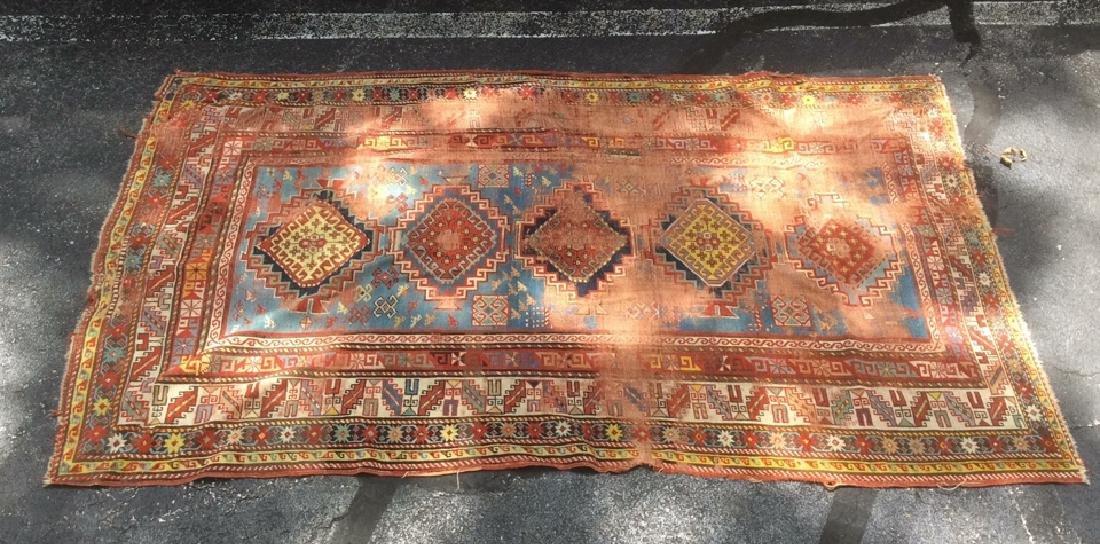 KAZAK Hand Knotted Vintage/Antique Carpet