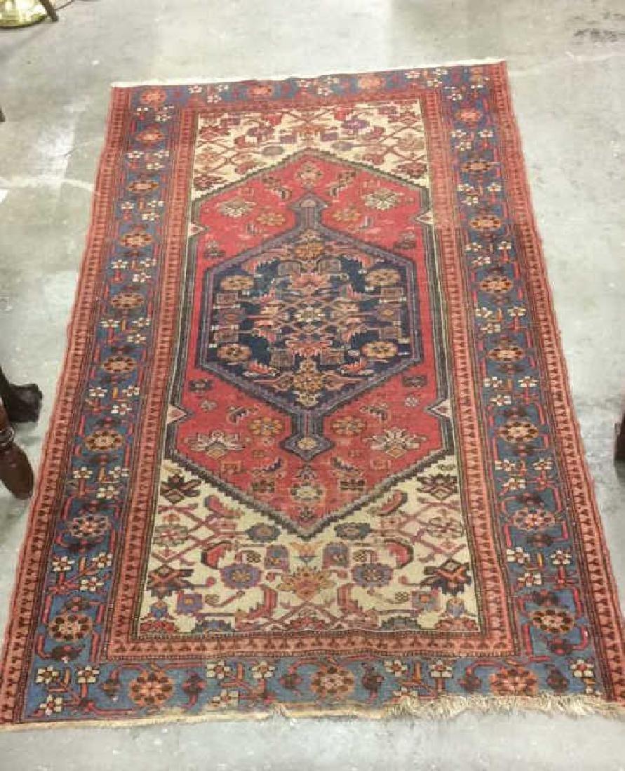 Antique or Vintage Hand Knotted Kazak Carpet