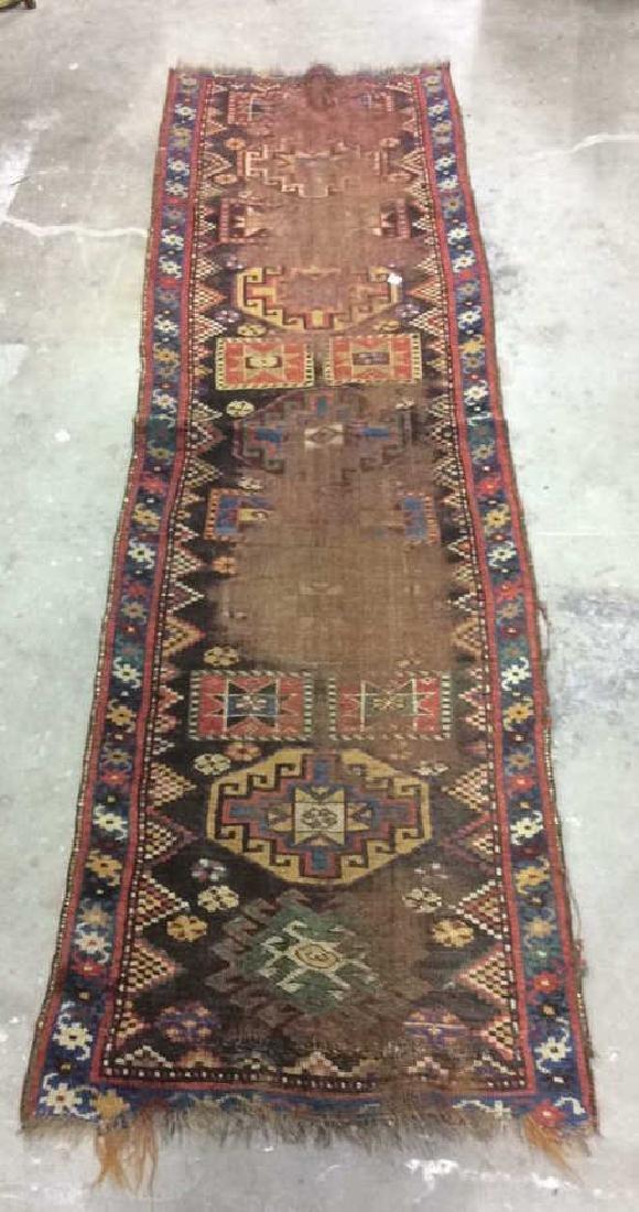 Antique or Vintage Kazak Carpet Runner