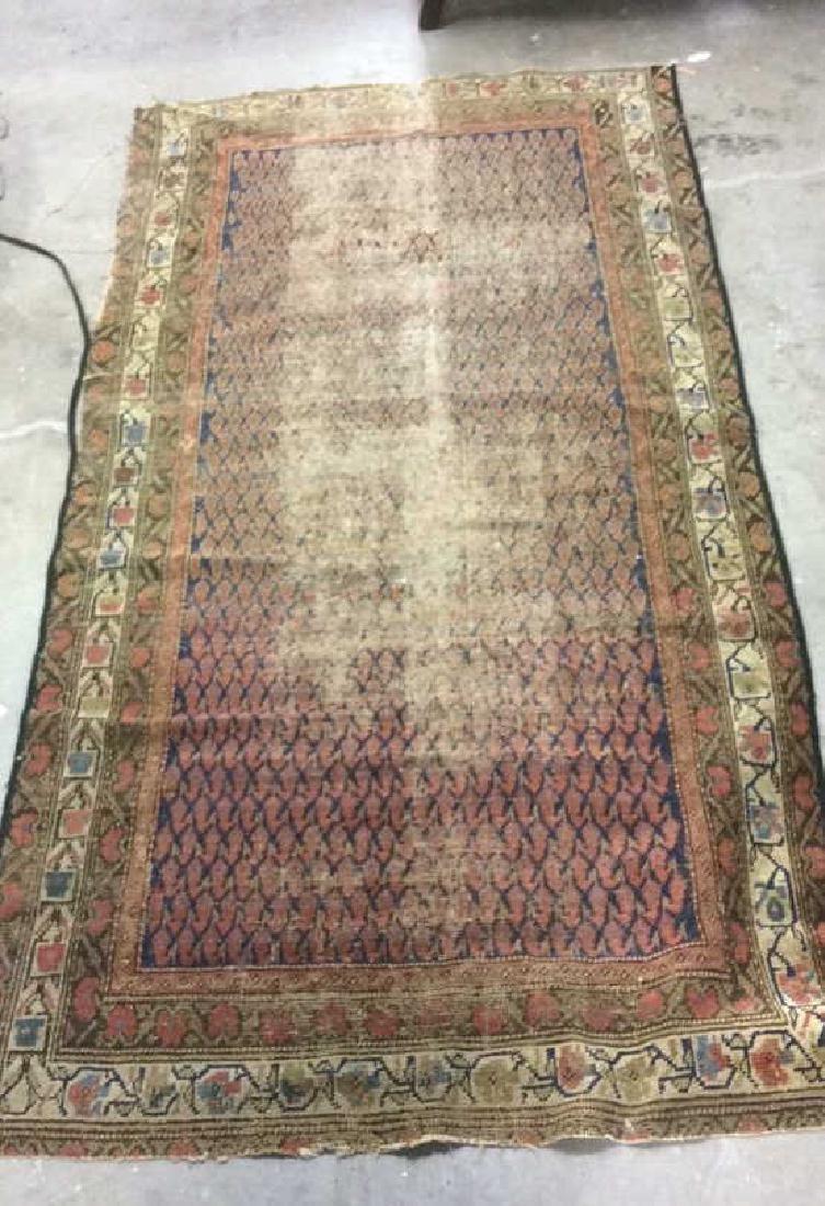 Antique Kazak Hand Knotted Carpet