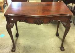 Chippendale Style Mahogany Buffet to Dining Table