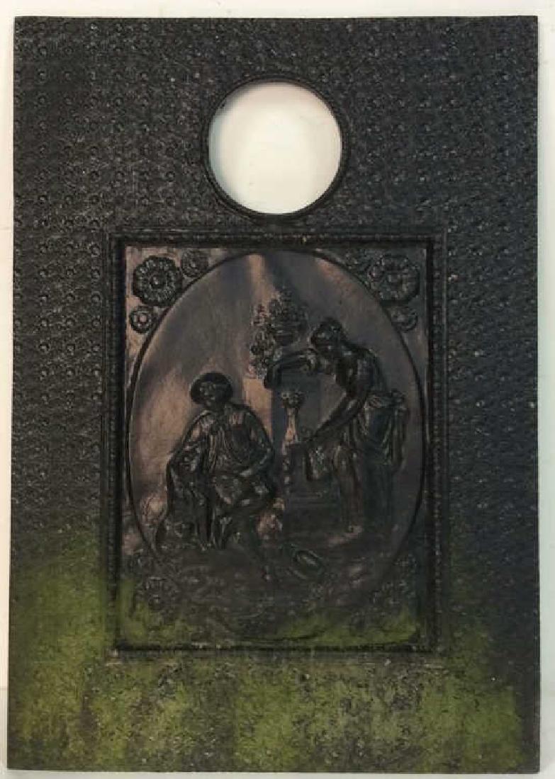 Vintage Cast Iron Garden Ornament