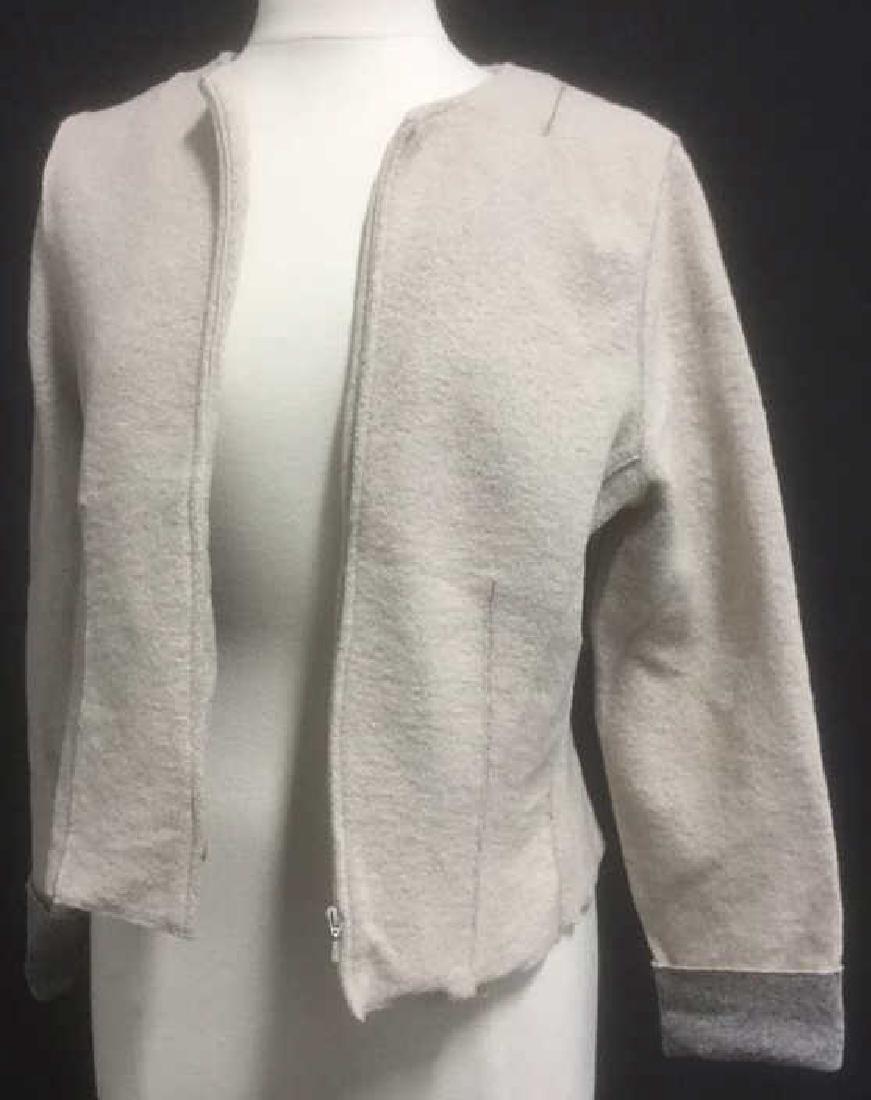 Philippe Adec Women's Zippered Knit Jacket
