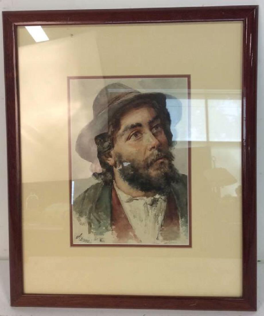 Professionally Framed Signed Portrait Print
