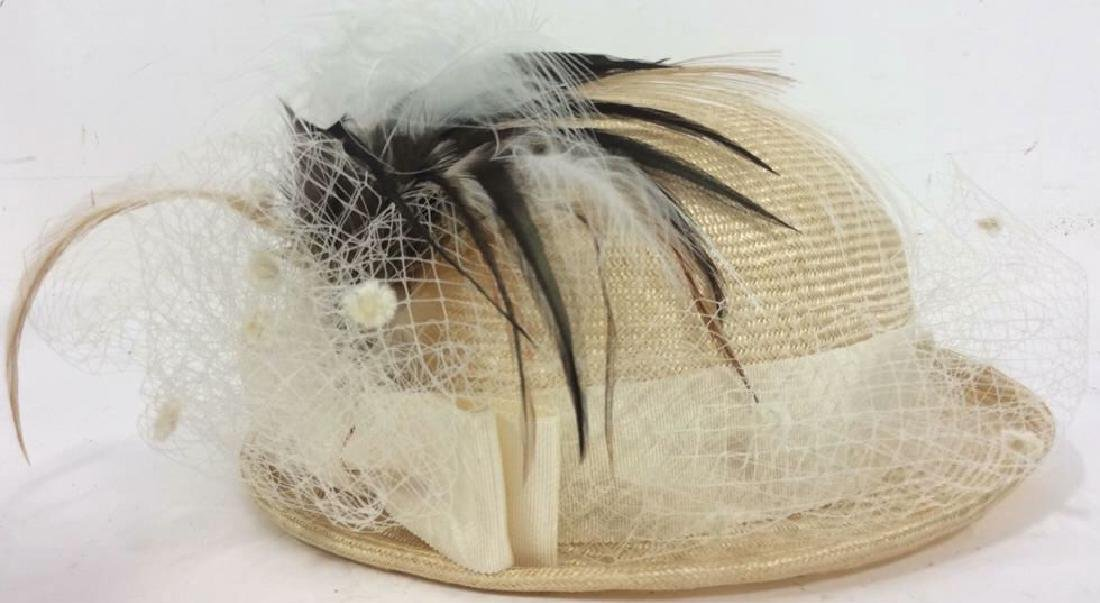 Vintage SUZANNE Women's Feathered Hat