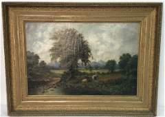 HARRY SUNTER Oil on Canvas 1881