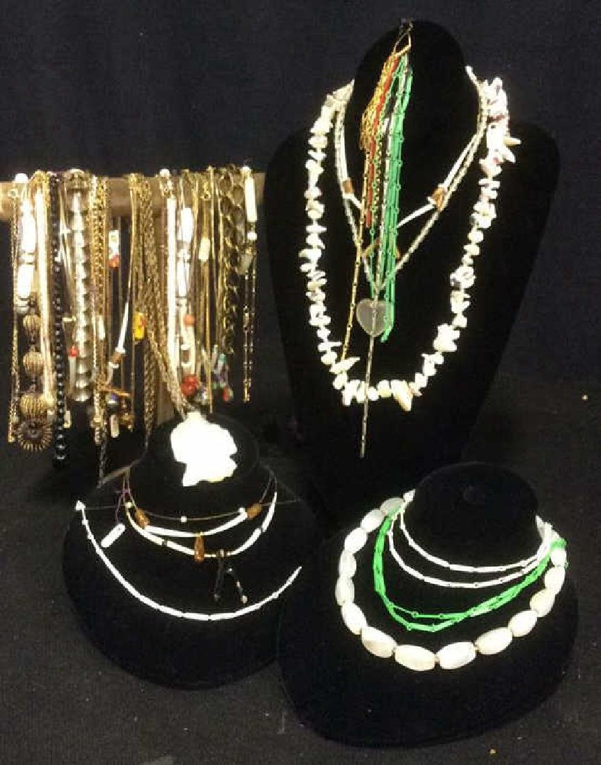 Group 40 +  Estate Jewelry Necklaces