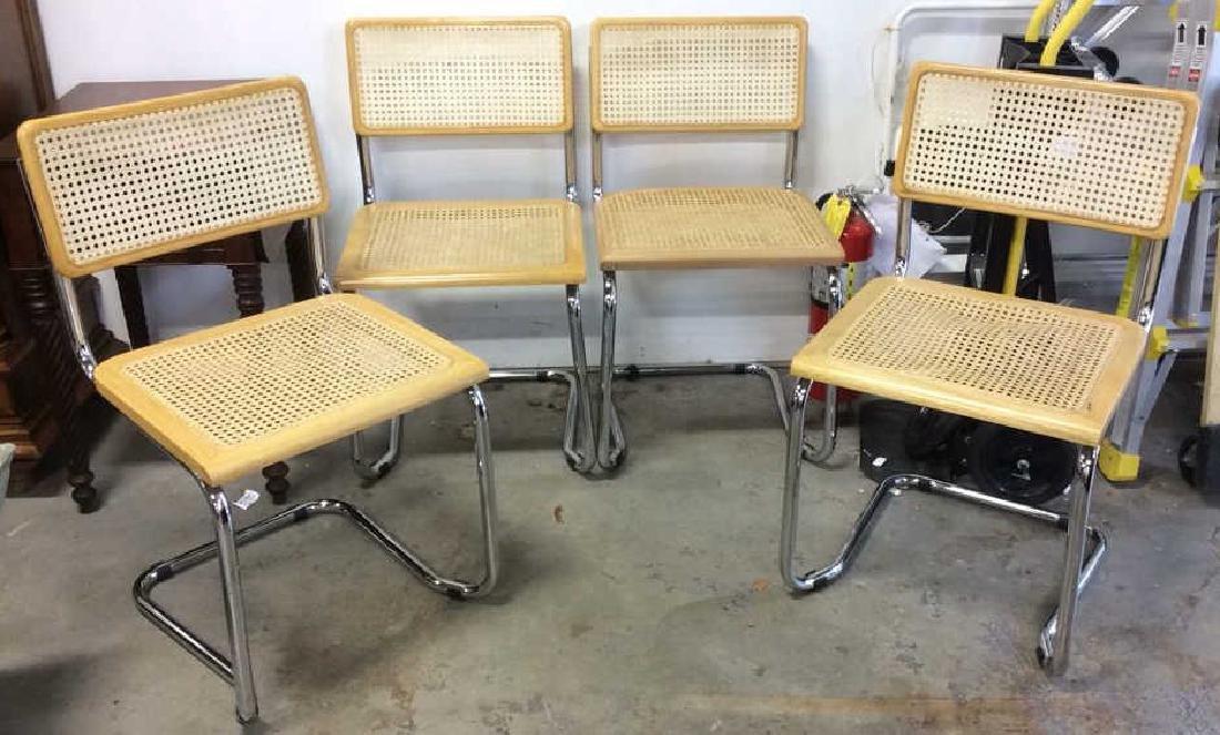 Set 4 Vintage Breuer l side Chairs