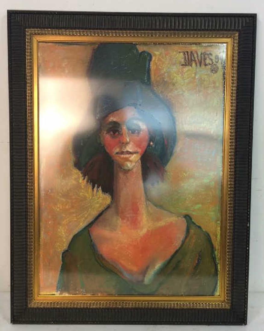Female Portrait Artwork Fauvist Style