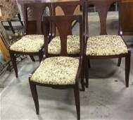Set 4 HICKORY Chair Dining Chairs