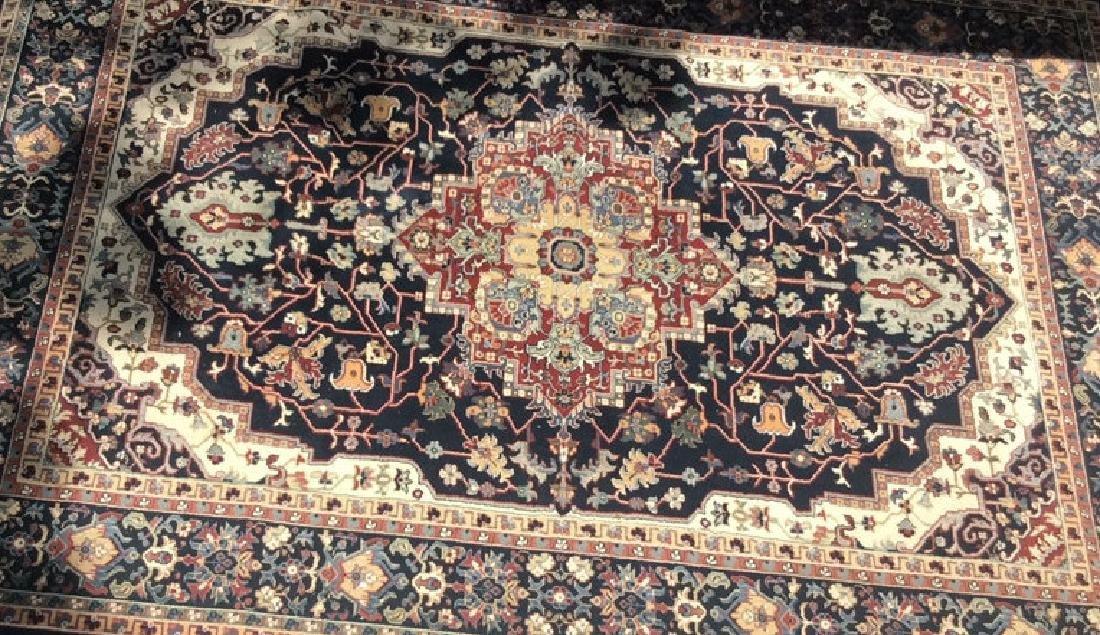Persian Style Fringed Edge Rug