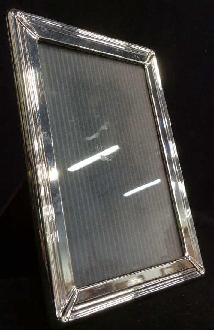 CHRISTOFLE Silver Toned Picture Frame