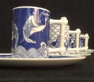 Lot 8 NANCY GETZ VANDOR Ceramic Porcelain Tea Set