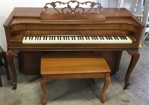 Baldwin acrosonic spinet piano weight berry blog for Small upright piano dimensions