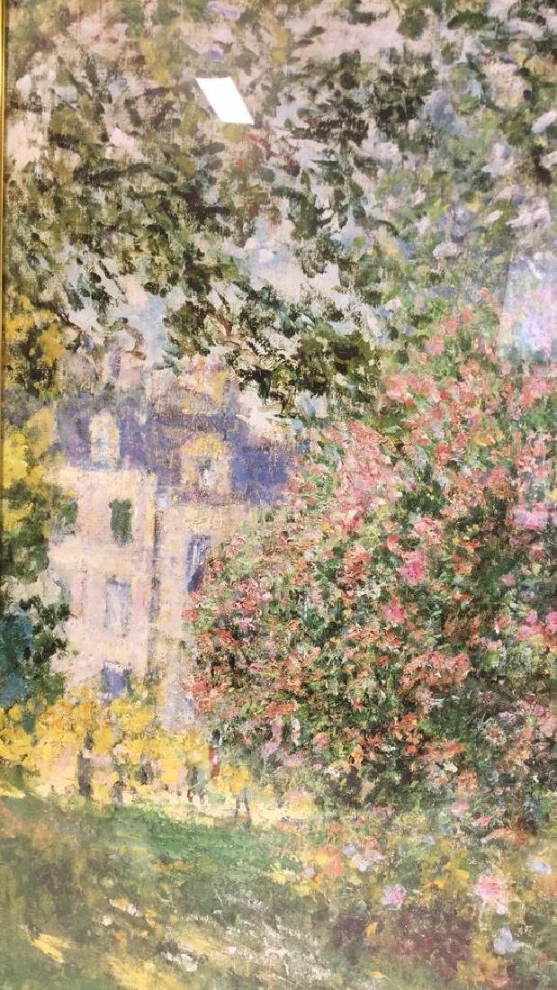 MONET Parc Monceau Framed Print - 5