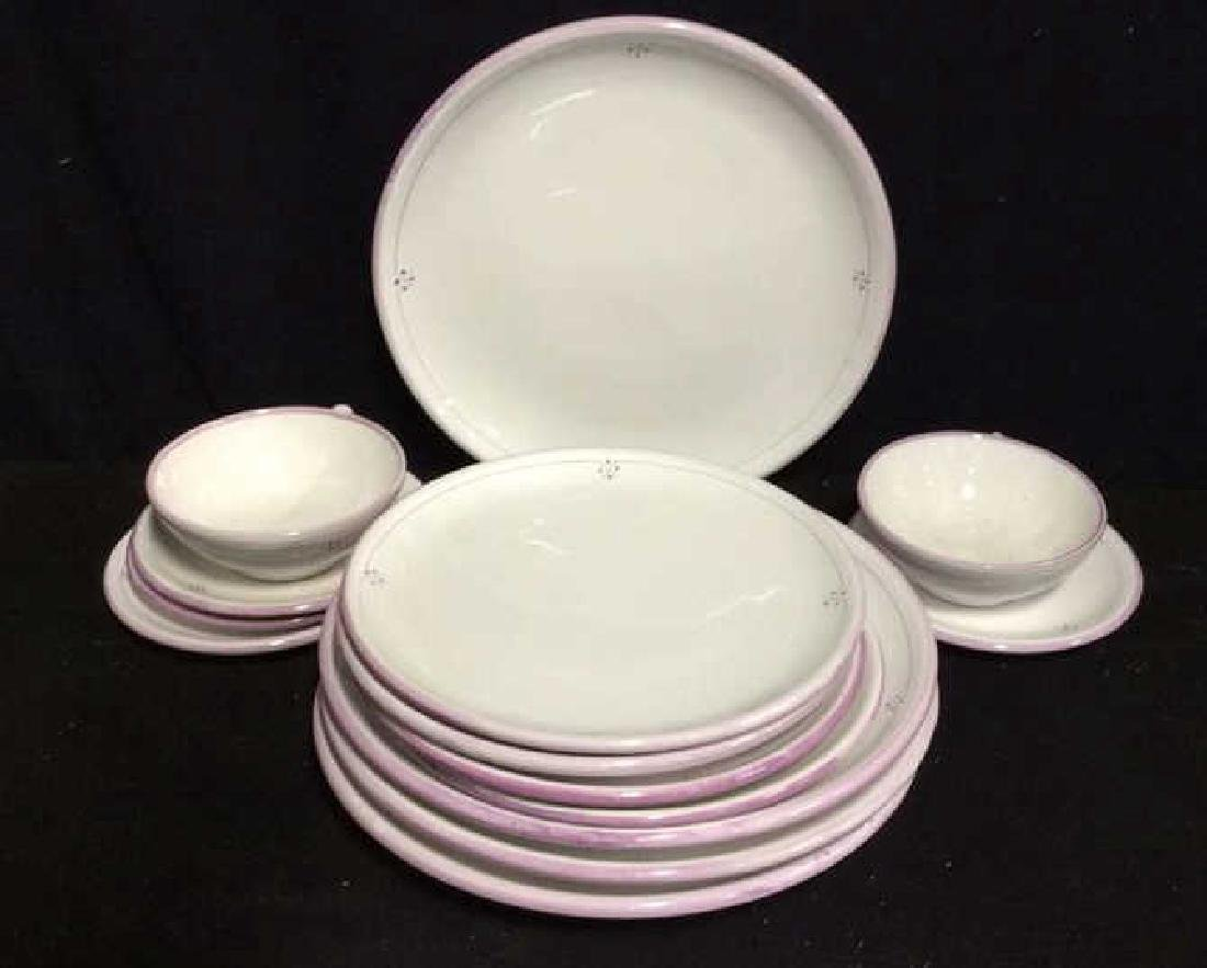 French Pottery Tableware