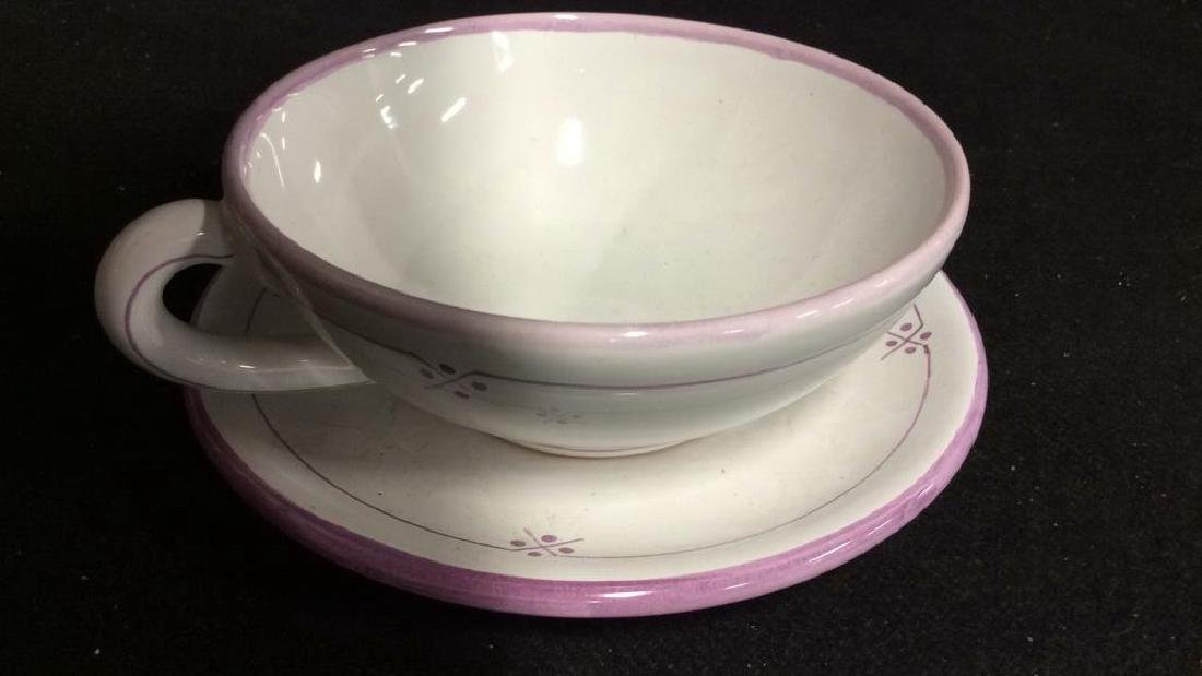 French Pottery Tableware - 4