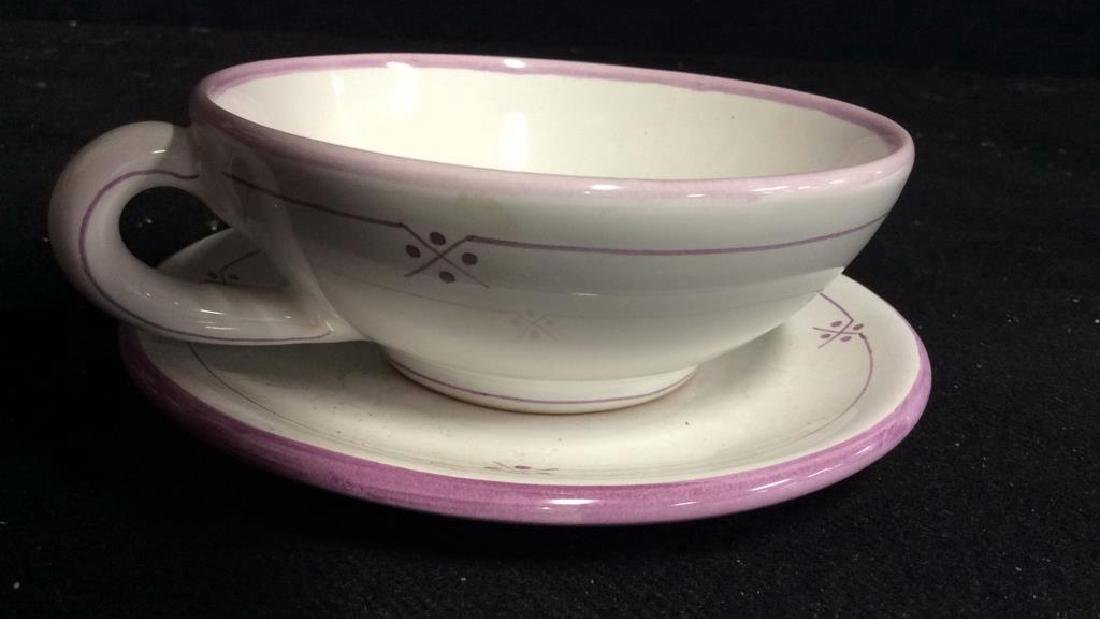 French Pottery Tableware - 5
