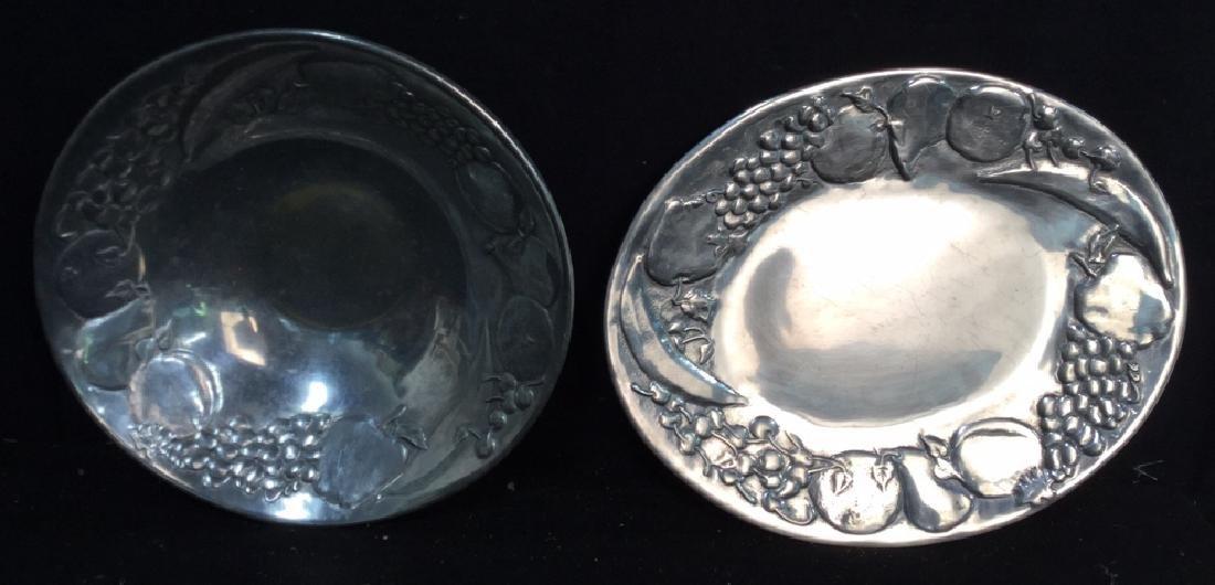 Wilton Armetale Platter And Bowl